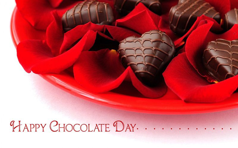Happy Chocolate Day 2017 Image For Wife & Husband