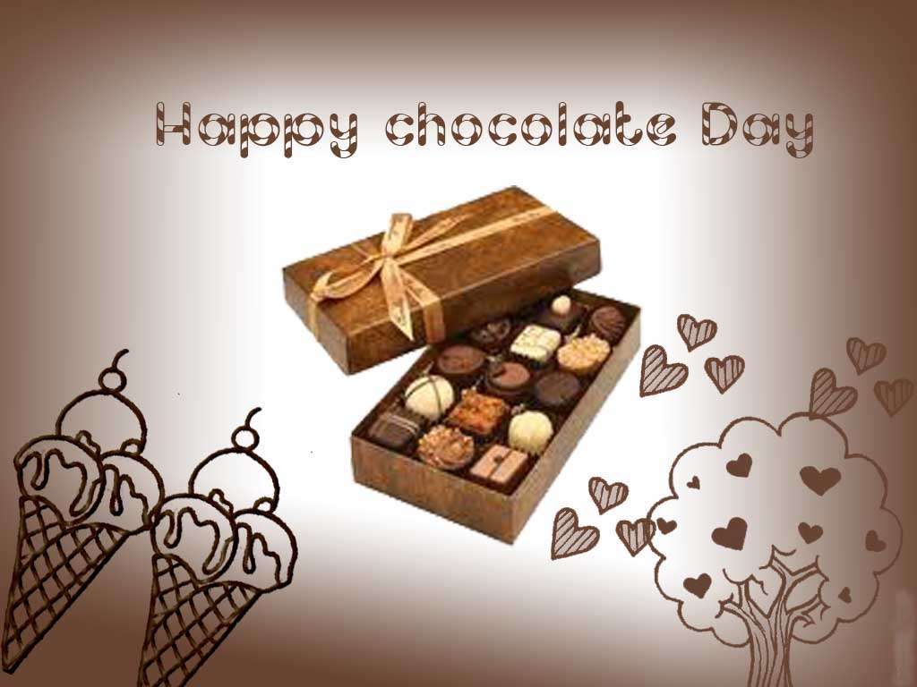 Happy Chocolate Day 2017 Whatsapp Facebook Status Dp