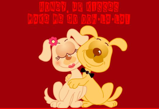 Happy Kiss Day 2017 Greeting Card Download