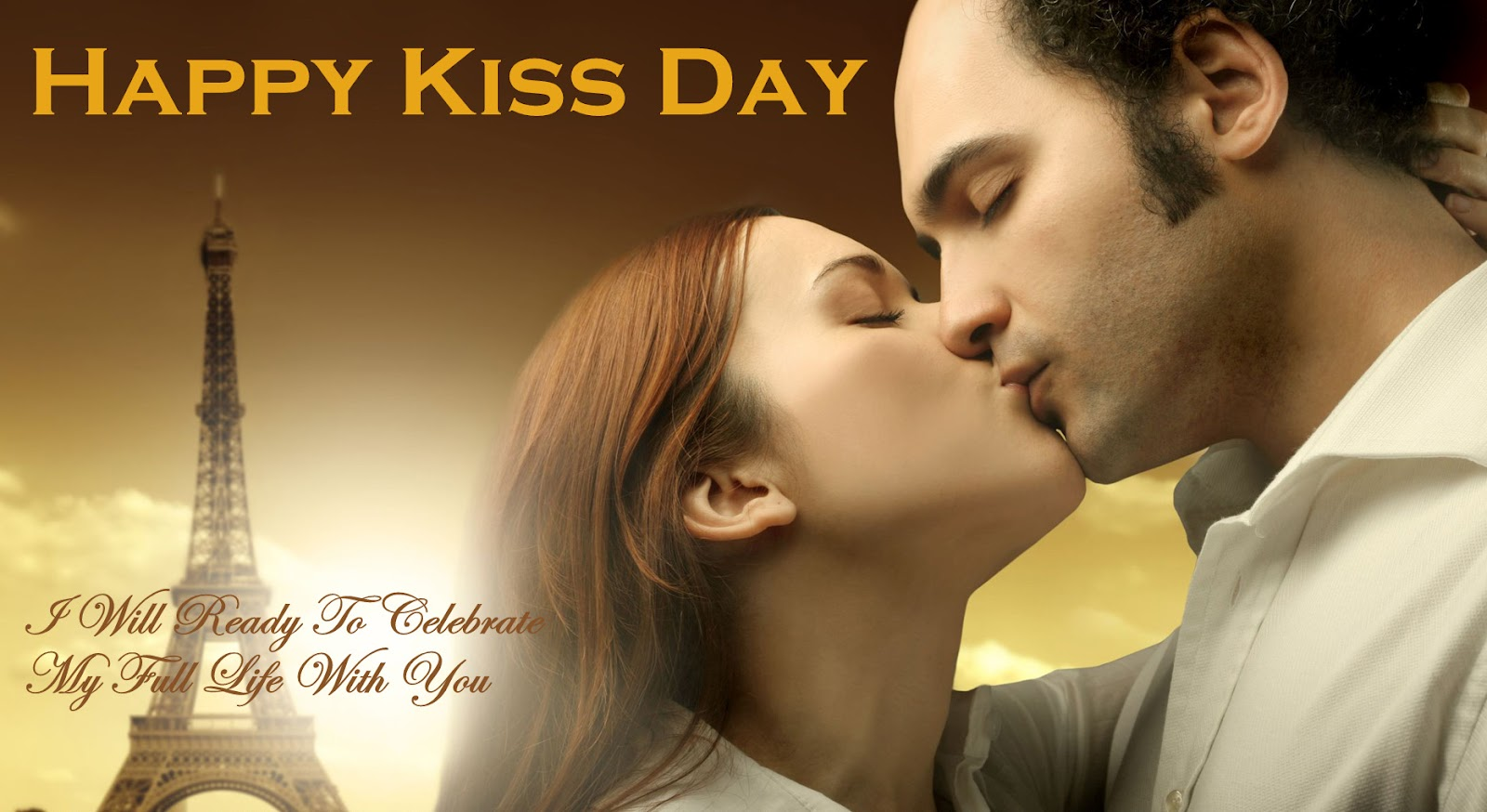 Happy Kiss Day 2017 HD Image For Girlfriend & Boyfriend