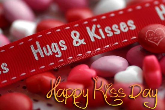 Happy Kiss Day 2017 HD Image For Whatsapp