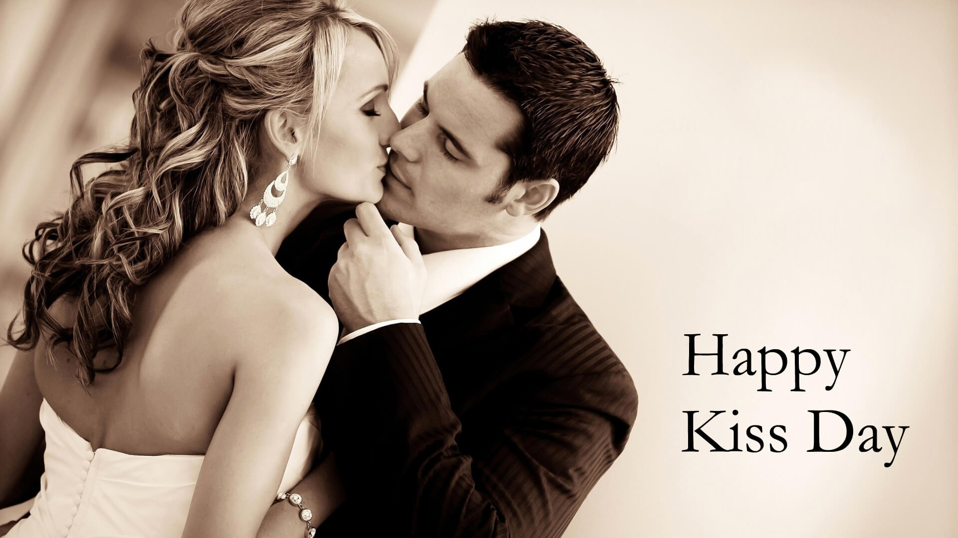 Happy Kiss Day 2017 HD Wallpaper