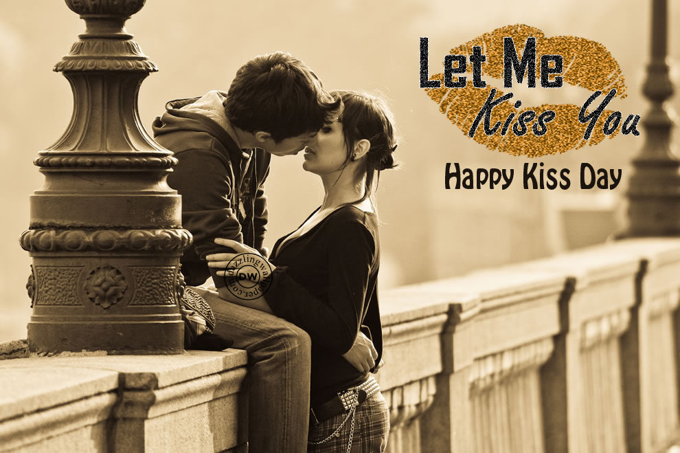 Happy Kiss Day 2017 Image For Whatsapp & Facebook