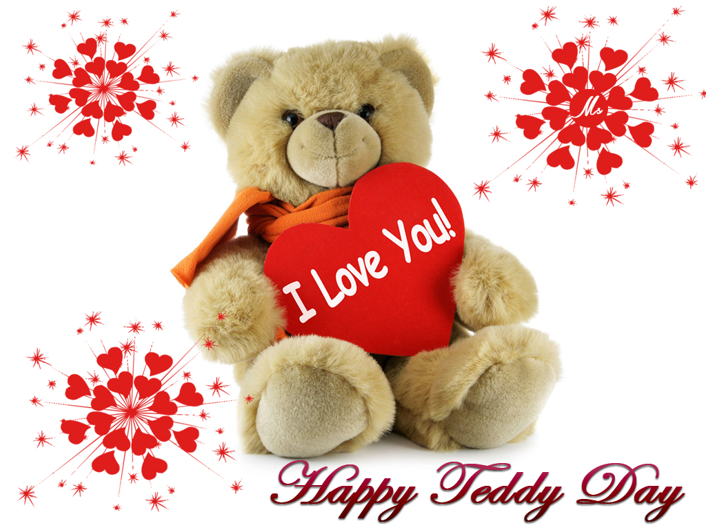 Cute Teddy Bear Day 2017 Dp For Whatsapp & Fb