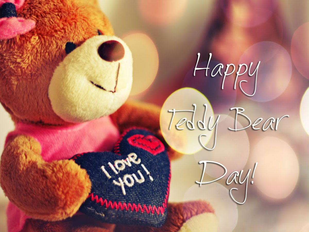 Cute Teddy Bear Day 2017 Image