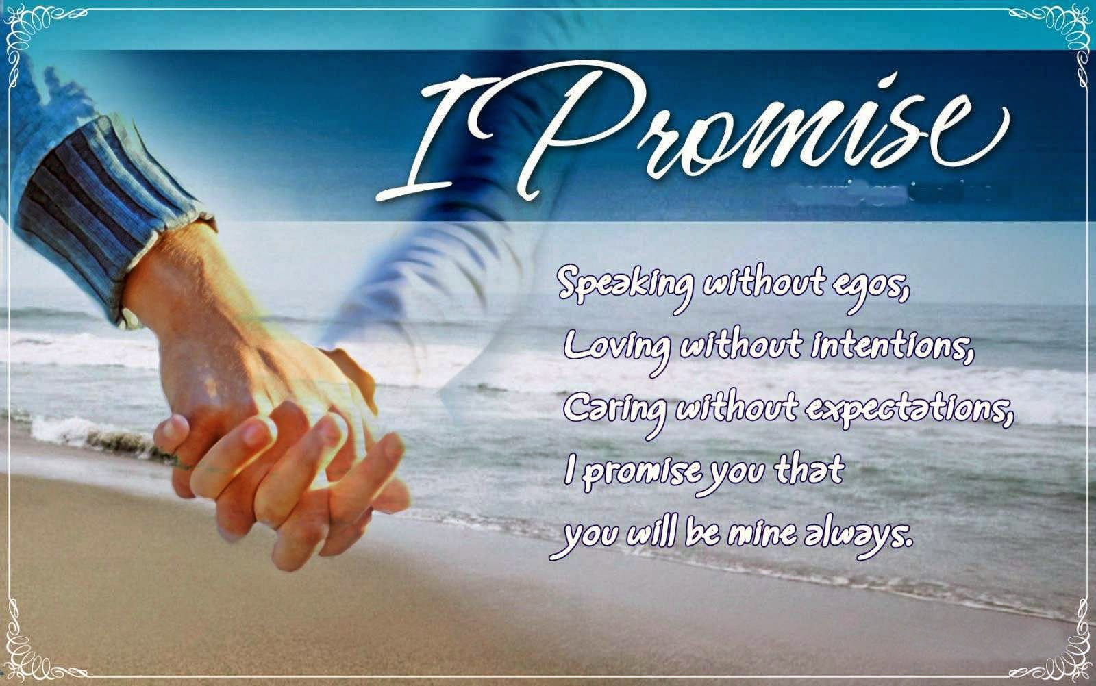 Happy Promise Day 2017 Image for Wife & Husband