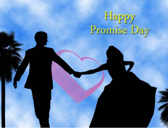 Happy Promise Day 2017 Whatsapp Dp & Fb profile