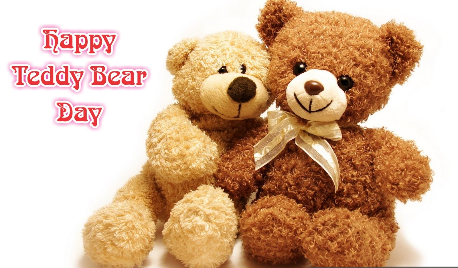 Happy Teddy Bear Day 2017 HD Image Free Download