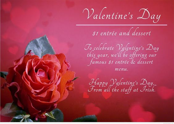 Happy Valentine's Day 2017 Lovely Wishes For Girlfriend & Boyfriend