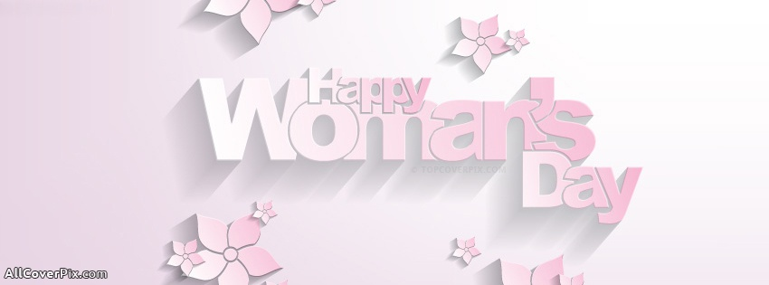 Happy Women's Day Facebook Cover Photo