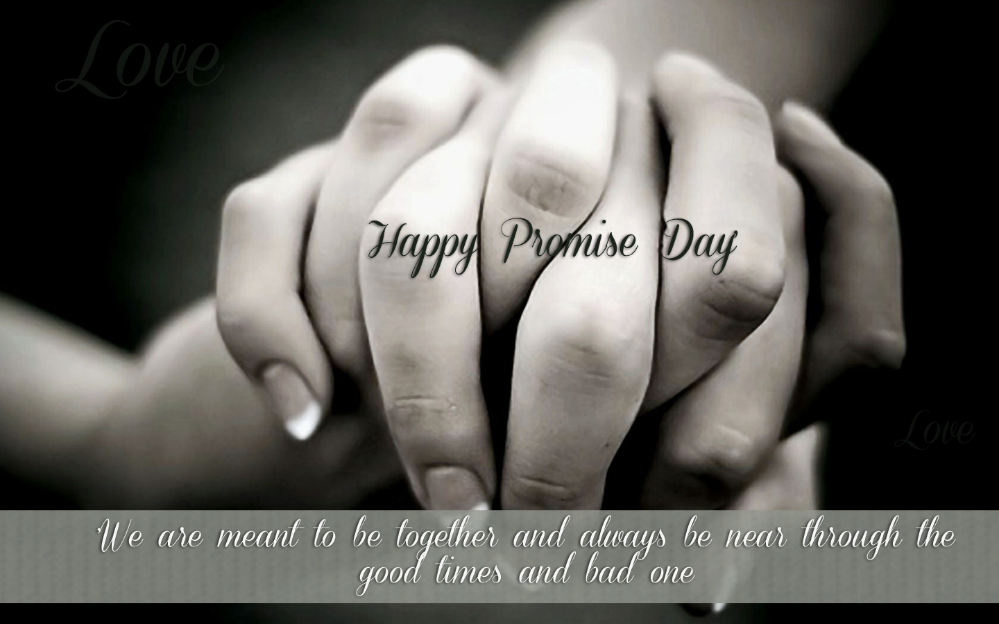 Promise Day 2017 HD Wallpaper Free Download