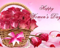 Women's Day 2017 Greeting Card