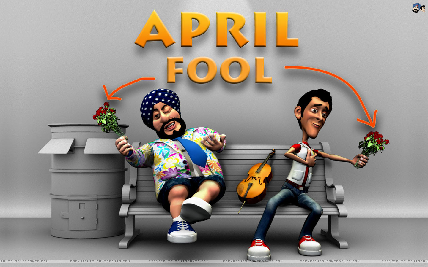 1st April Fool's Day Image