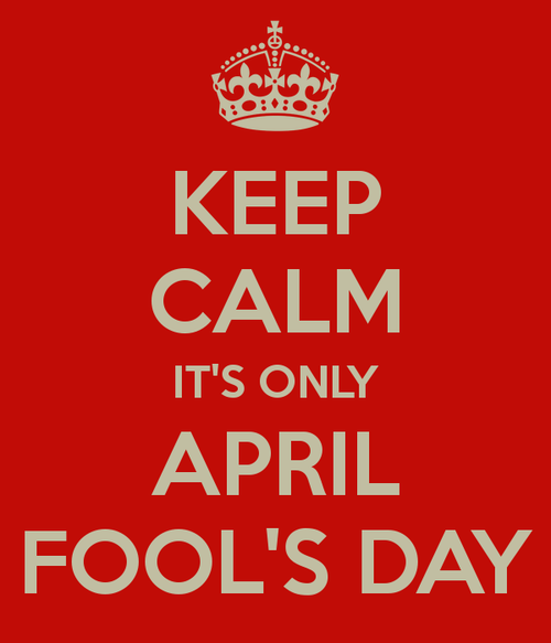 April Fool's Day 2017 DP for Whatsapp