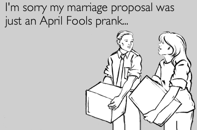 April Fool's Day Funny Image for Wife