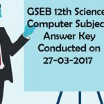 GSEB 12th Science Sem 4 Computer Answer Key