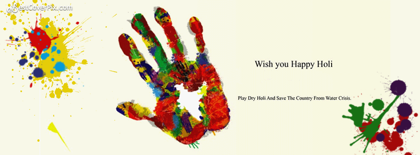 Happy Holi 2017 HD Banner