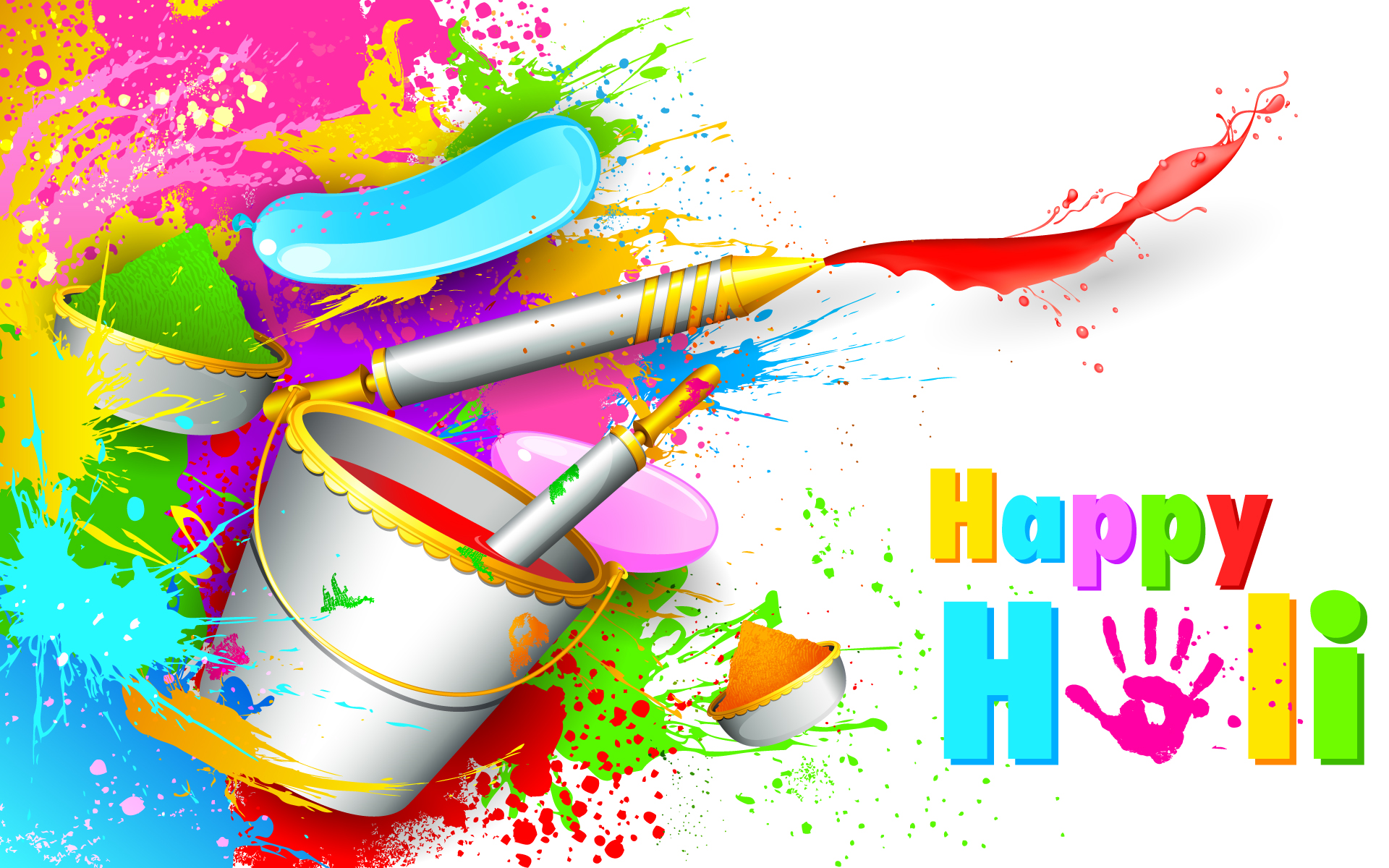 Happy Holi 2017 Wallpaper free download