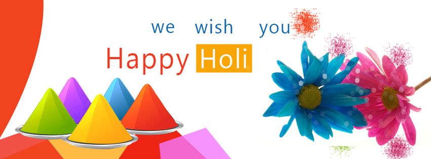 Happy Holi Cover Photo For Facebook