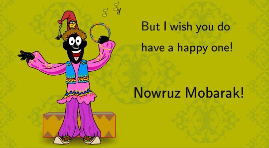 Happy Nowruz 2017 Greeting Card