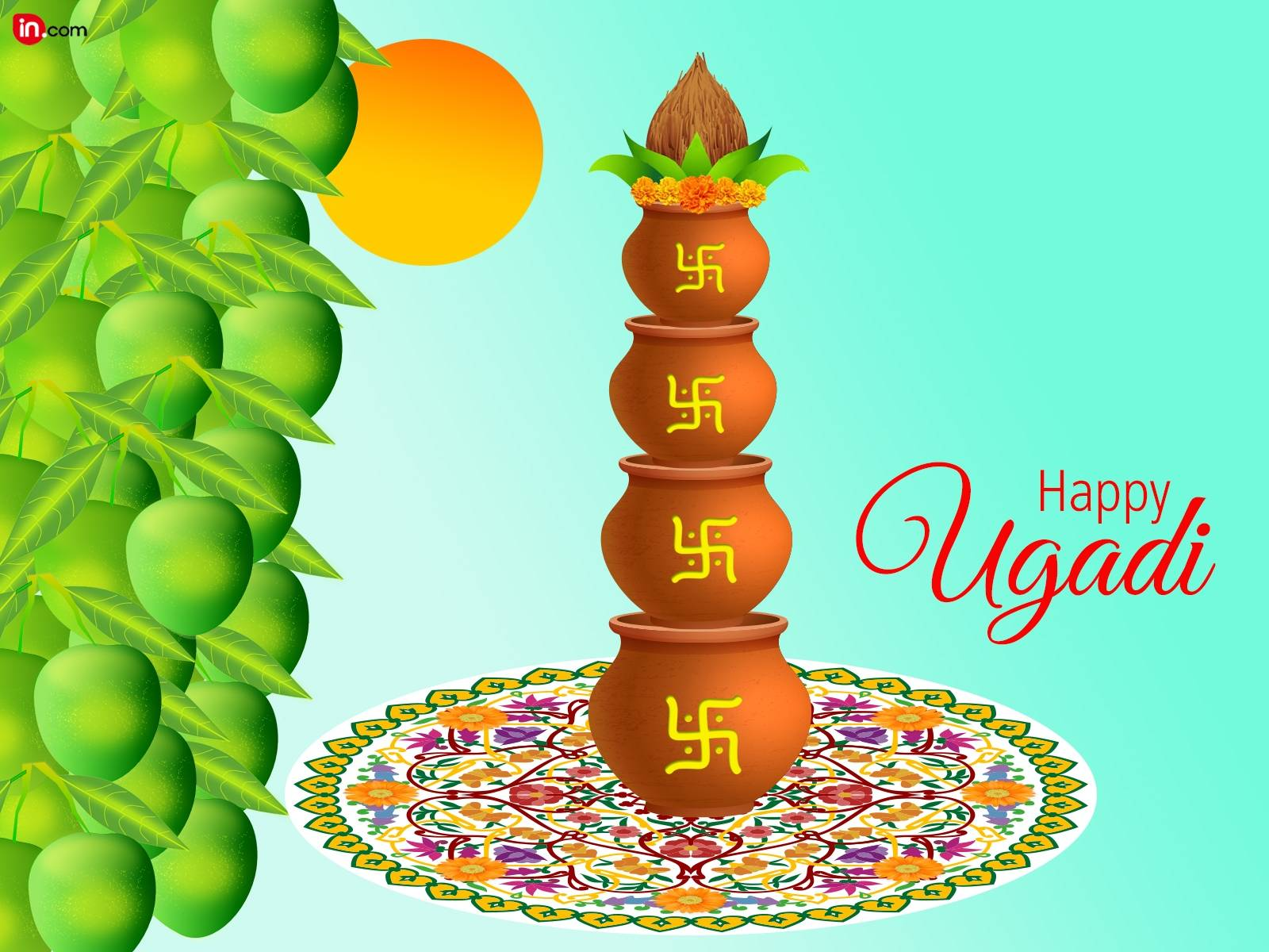 Happy Ugadi Image Free Download 123message Wishes