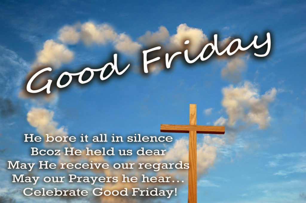 Good Friday 2017 Greeting Card