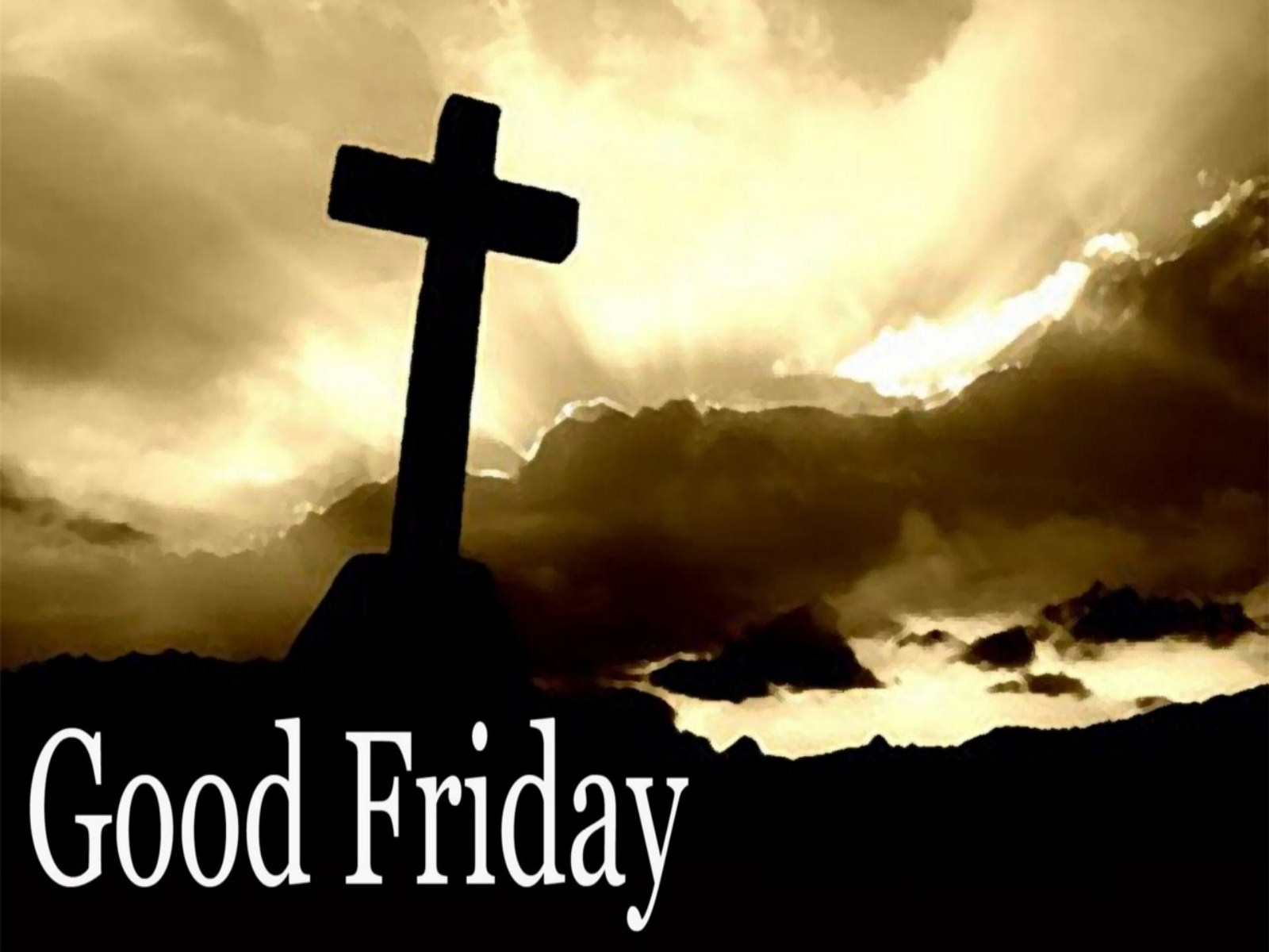 Good Friday 2017 Image for Facebook