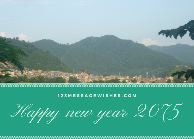 Happy new year 2075 images 123message wishes